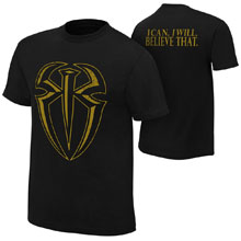 "Roman Reigns ""I Can I Will"" Gold Edition Youth T-Shirt"