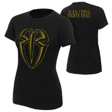 "Roman Reigns ""I Can I Will"" Gold Edition Women's T-Shirt"
