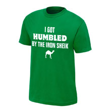 "Iron Sheik ""I Got Humbled"" Finisher T-Shirt"
