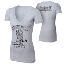 "WrestleMania 32 ""Boots"" Women's T-Shirt"