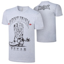 "WrestleMania 32 ""Boots"" T-Shirt"