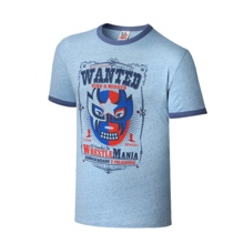 "WrestleMania 32 ""Wanted"" Vintage T-Shirt"