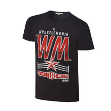 "WrestleMania 32 Vintage ""WM"" T-Shirt"