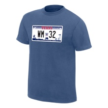 "WrestleMania 32 ""License Plate"" T-Shirt"