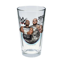 The Dudley Boyz Toon Tumbler Pint Glass