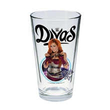 Becky Lynch Toon Tumbler Pint Glass