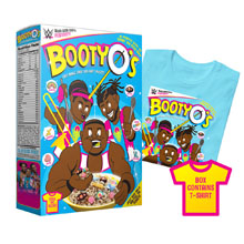 "The New Day ""Booty-O's"" T-Shirt & Collectible Box"