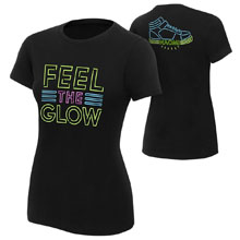 "Naomi ""Feel the Glow"" Women's Authentic T-Shirt"
