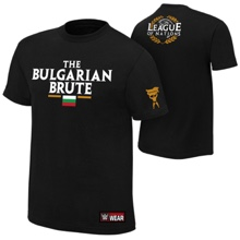 "Rusev ""League of Nations"" Authentic T-Shirt"