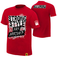 "Shinsuke Nakamura ""Strong Style Has Arrived"" Youth Authentic T-Shirt"