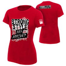 "Shinsuke Nakamura ""Strong Style Has Arrived"" Women's Authentic T-Shirt"