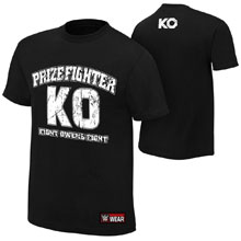 "Kevin Owens ""KO PrizeFighter"" Authentic T-Shirt"
