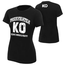 "Kevin Owens ""KO PrizeFighter"" Women's Authentic T-Shirt"