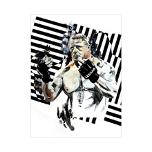 Brock Lesnar WrestleMania 32 11 x 14 Art Print