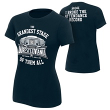 "WrestleMania 32 ""Attendance Record"" Women's T-Shirt"