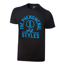 "AJ Styles ""The Phenomenal One"" Vintage T-Shirt"