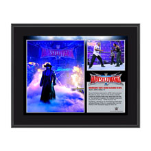 Undertaker WrestleMania 32 10 x 13 Photo Collage Plaque