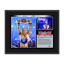 Charlotte WrestleMania 32 10 x 13 Photo Collage Plaque