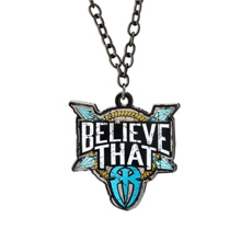 "Roman Reigns ""Believe That"" Blue Pendant"
