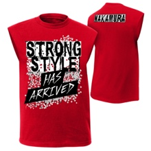 "Shinsuke Nakamura ""Strong Style Has Arrived"" Muscle T-Shirt"