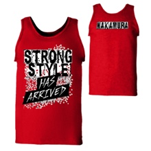 "Shinsuke Nakamura ""Strong Style Has Arrived"" Tank Top"