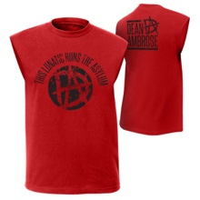 "Dean Ambrose ""This Lunatic Runs The Asylum"" Youth Muscle T-Shirt"