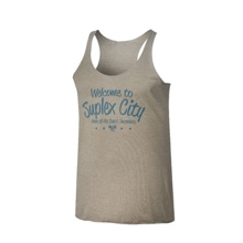 "Brock Lesnar ""Welcome to Suplex City"" Women's Tank Top"