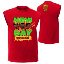 "The New Day ""New Day Rocks"" Muscle T-Shirt"
