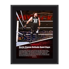 Kevin Owens Payback 2016 10 x 13 Photo Collage Plaque