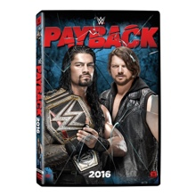 WWE Payback 2016 DVD