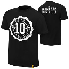 "Tye Dillinger ""The Numbers Don't Lie"" Authentic T-Shirt"