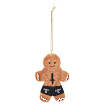 Brock Lesnar Gingerbread Ornament