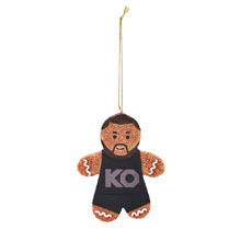 Kevin Owens Gingerbread Ornament