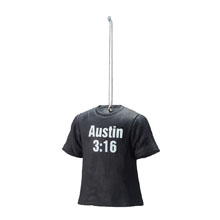 Stone Cold Steve Austin T-Shirt Ornament