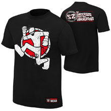 "Sami Zayn ""Worlds Apart"" Authentic T-Shirt"