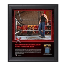 Dean Ambrose Extreme Rules 2016 15 x 17 Framed Ring Canvas Photo Collage