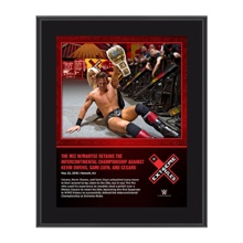 The Miz Extreme Rules 2016 10 x 13 Photo Collage Plaque