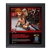 The Miz Extreme Rules 2016 15 x 17 Framed Ring Canvas Photo Collage
