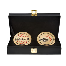 Charlotte Women's Championship Replica Title Side Plate Box Set