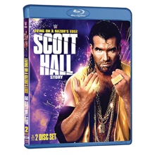 WWE: Living on a Razor's Edge: The Scott Hall Story Blu-Ray