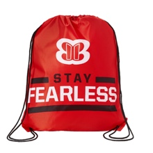 "Nikki Bella ""Stay Fearless"" Drawstring Bag"
