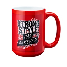 "Shinsuke Nakamura ""Strong Style Has Arrived"" 15 oz. Mug"