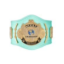 WWE Blue Winged Eagle Championship Mini Replica Title Belt