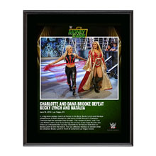Charlotte and Dana Brooke Money In The Bank 2016 10 x 13 Photo Plaque