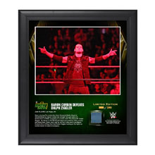 Baron Corbin Money In The Bank 2016 15 x 17 Framed Photo w/ Ring Canvas
