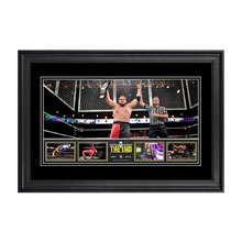 NXT Takeover: The End 13 x 21 Framed Photo Collage
