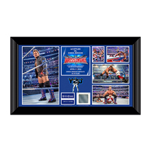 Chris Jericho WrestleMania 32 Signed Commemorative Plaque