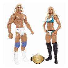 Charlotte and Ric Flair Series 41 Battle Pack