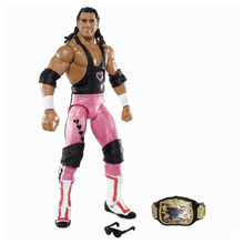 Bret Hart Elite Series 43 Action Figure