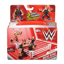 """WWE Superstars� - Mighty Mini's Portable Mini Ring Playset"